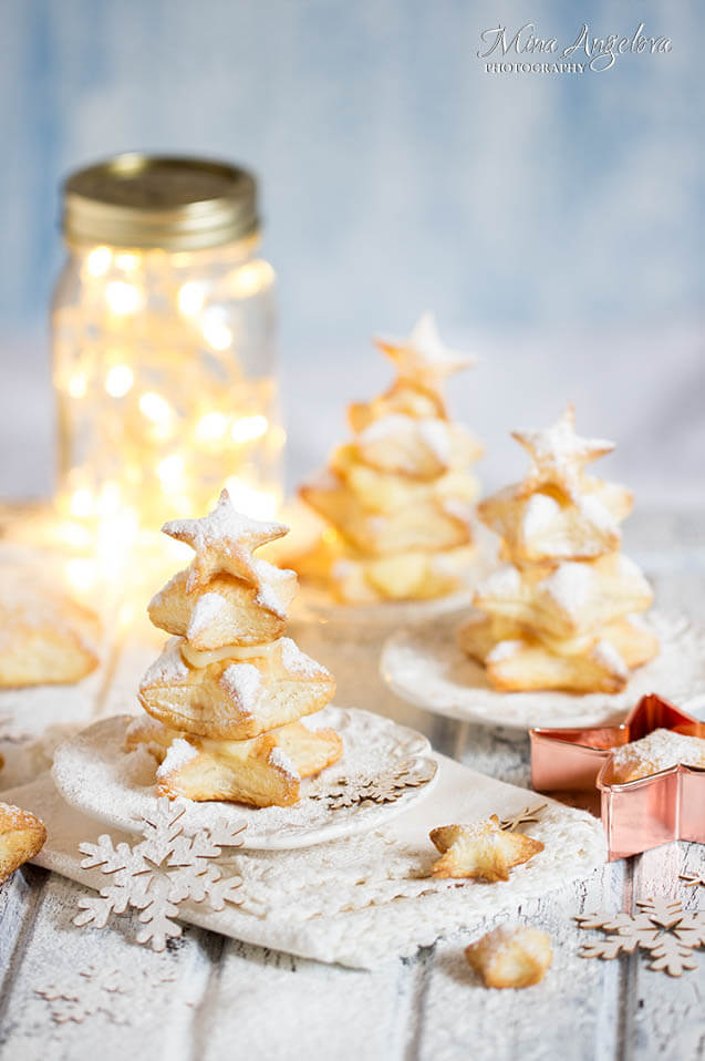 vanilla pudding puff pastry, Christmas party food ideas