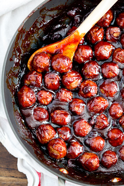 cranberry-barbecue-meatballs