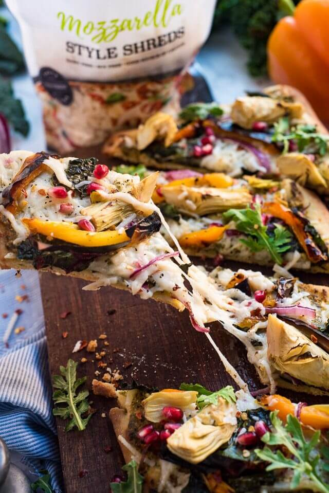 Fall Harvest Vegan Pizza