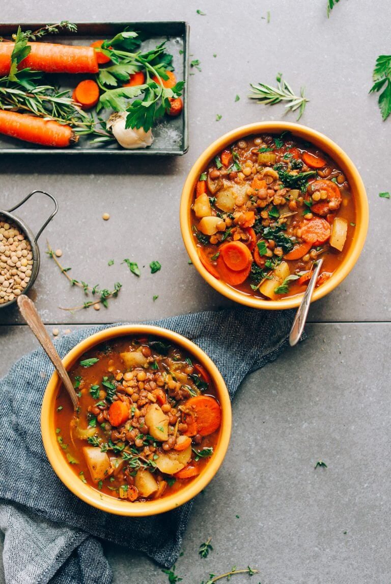 One Pot Everyday Lentil Soup