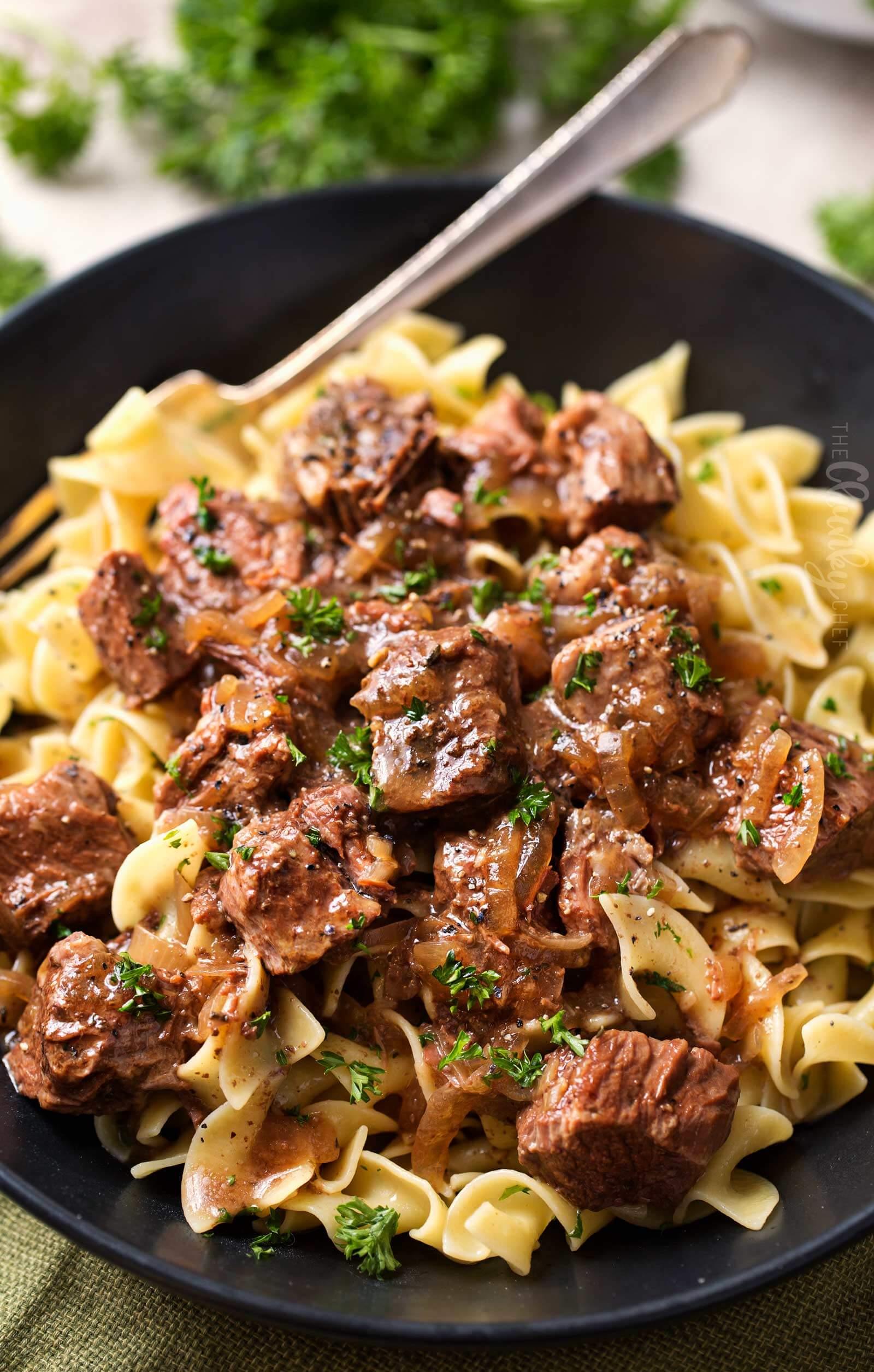 Drunken Slow Cooker Beef Stew , Beef Dinner Recipe