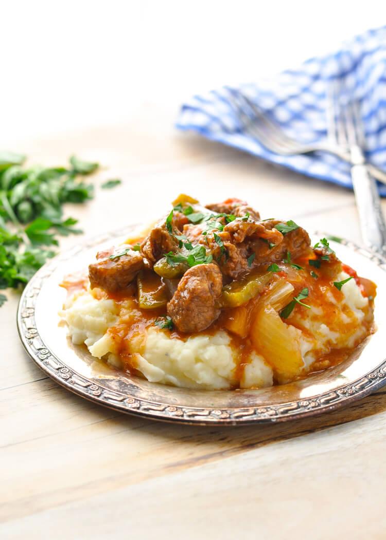 One Pot Hungarian Goulash, beef dinner recipe