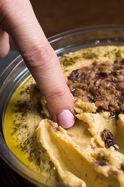 Enjoying-Hummus-Bites-The-Lemon-Bowl