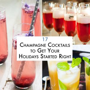 17 Champagne Cocktails to Get Your Holidays Started Right
