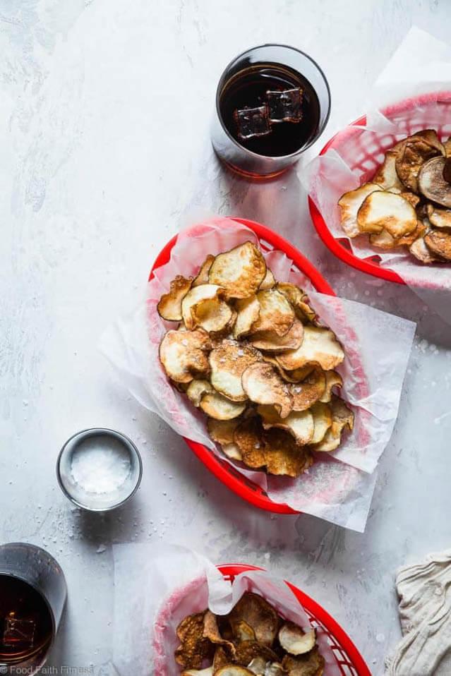 Air Fryer Potato Chips, air fryer potato chips, finger food ideas
