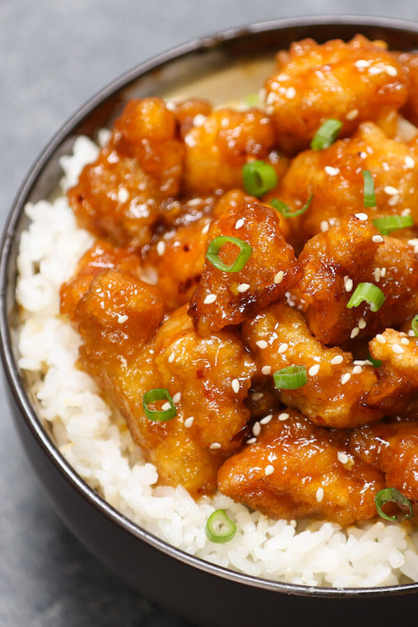 general Tso's chicken breast recipe
