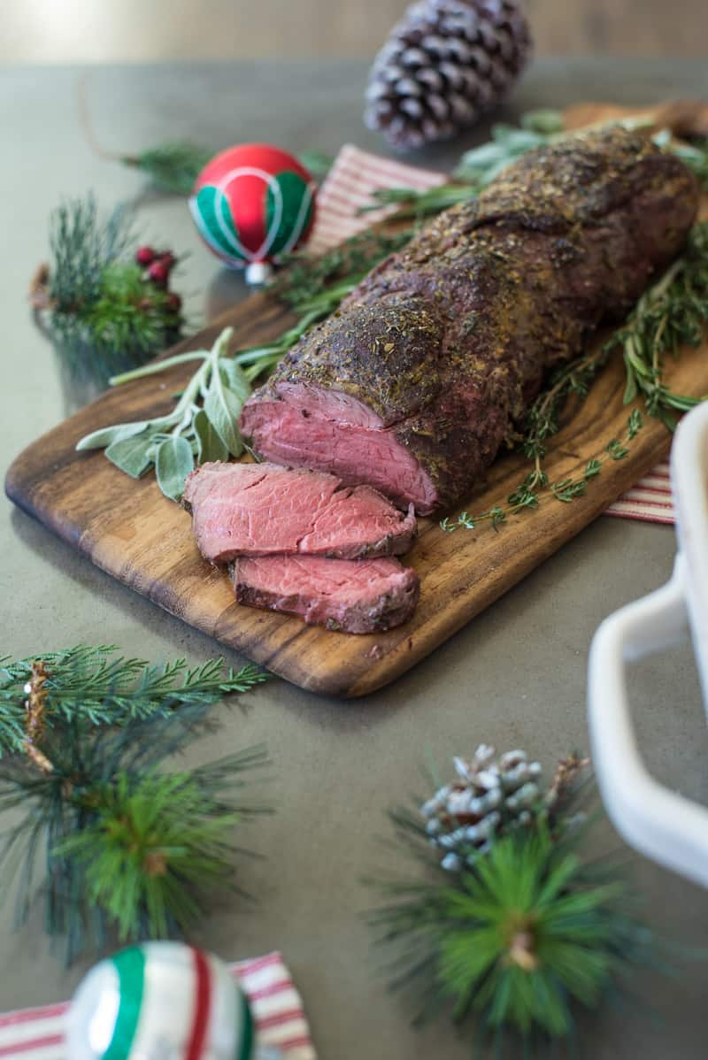 Herb Roasted Beef Tenderloin, beef recipes