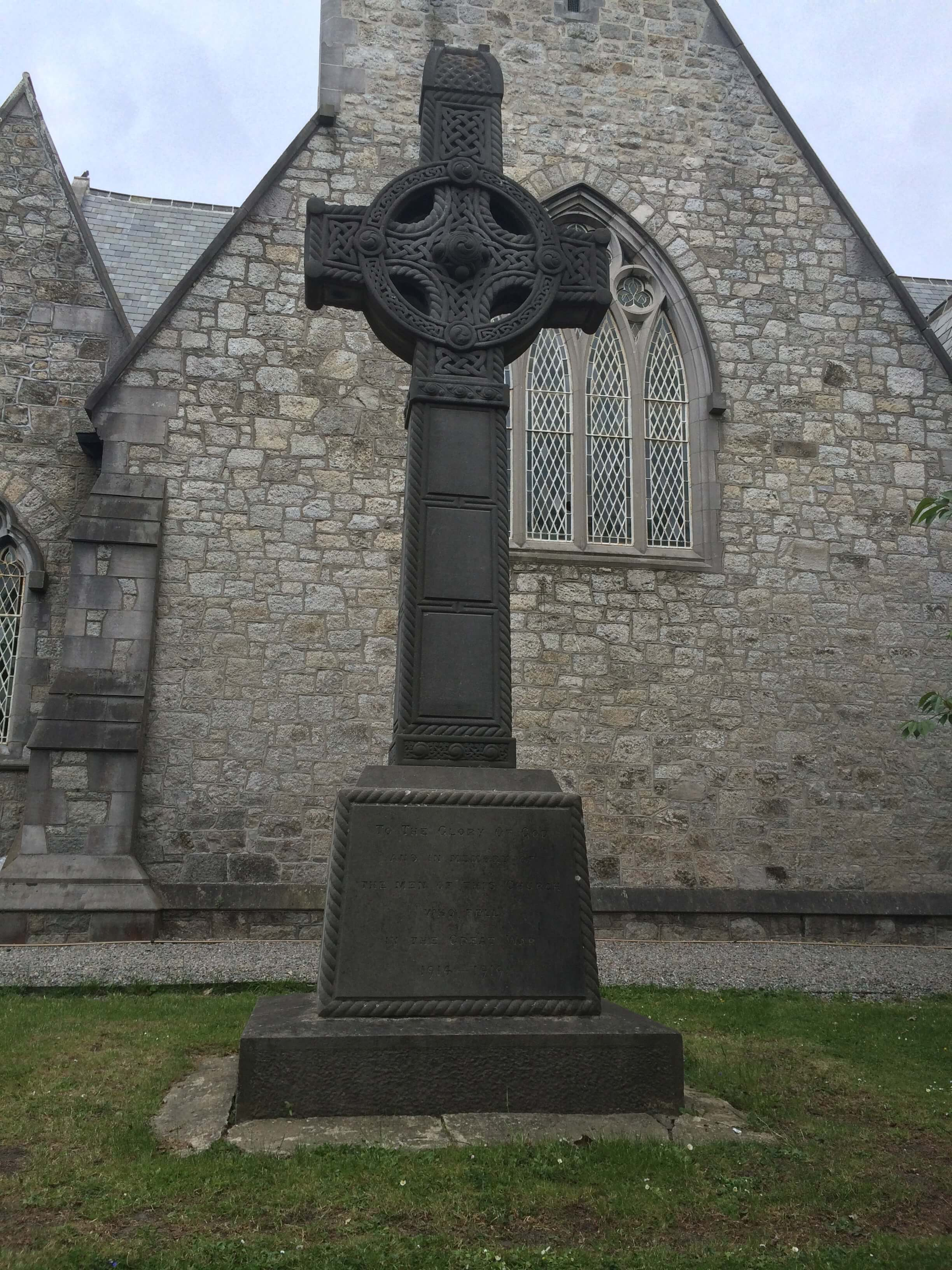 Memorial Cross in Clontarf, Dublin.