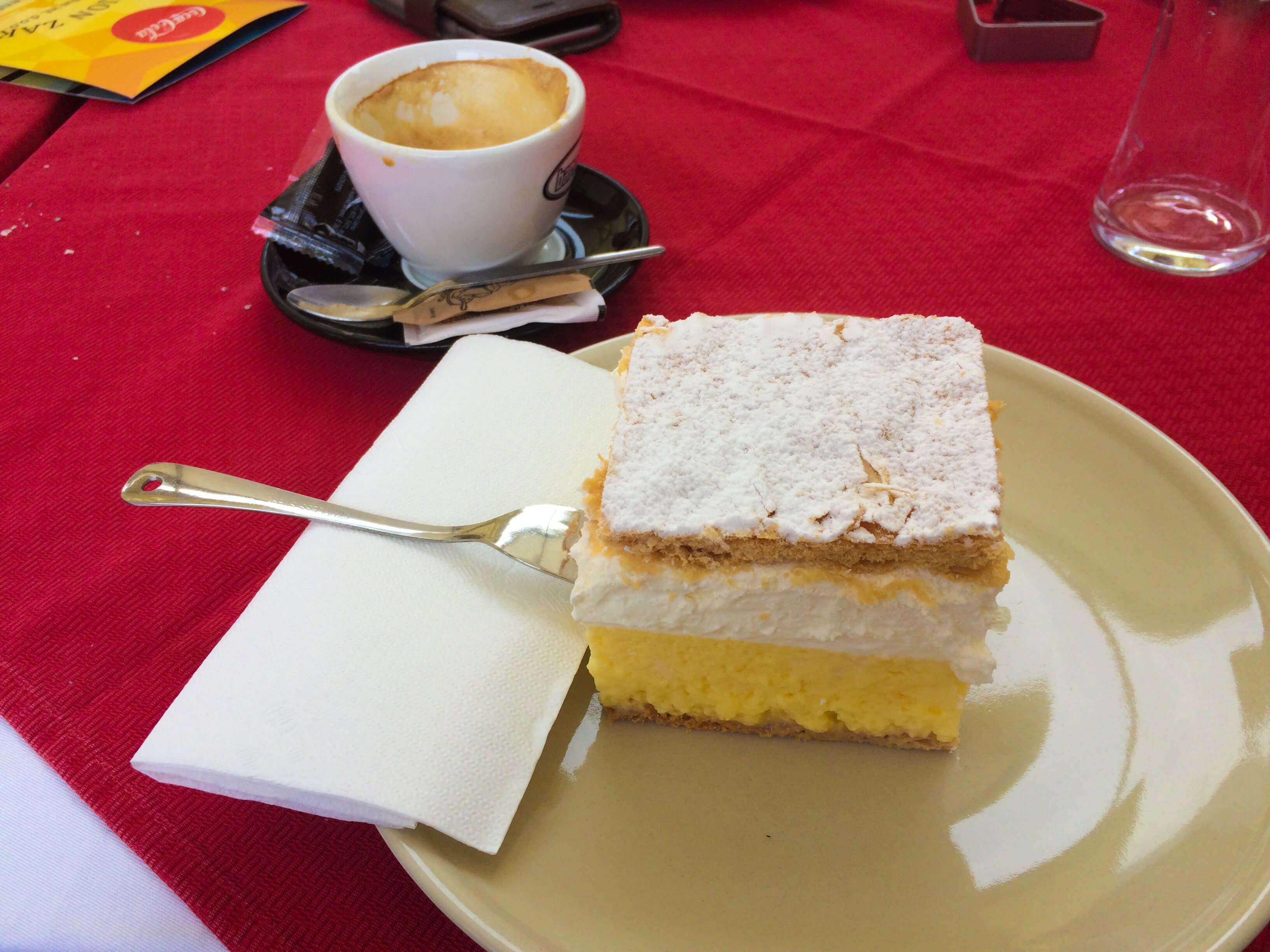 slovenian cream cake recipe