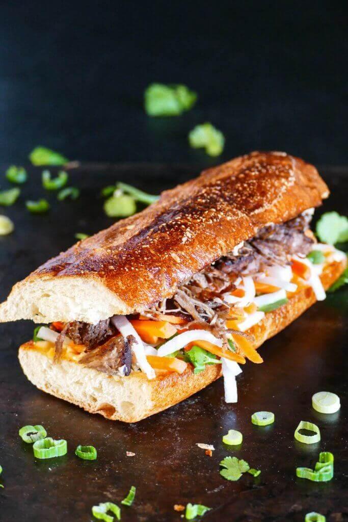 Instant Pot Banh mi Vietnamese sandwich