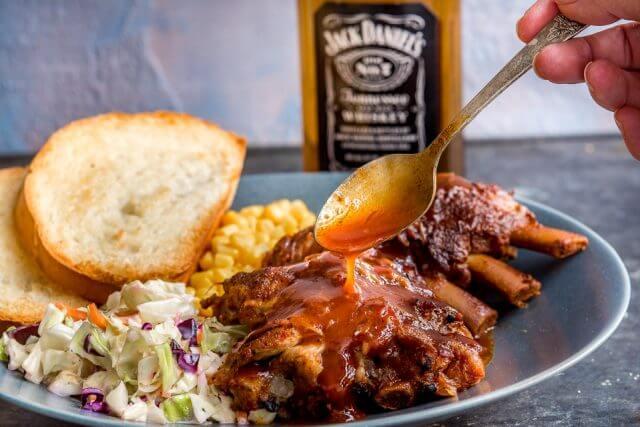 Whiskey BBQ Instant Pot Ribs