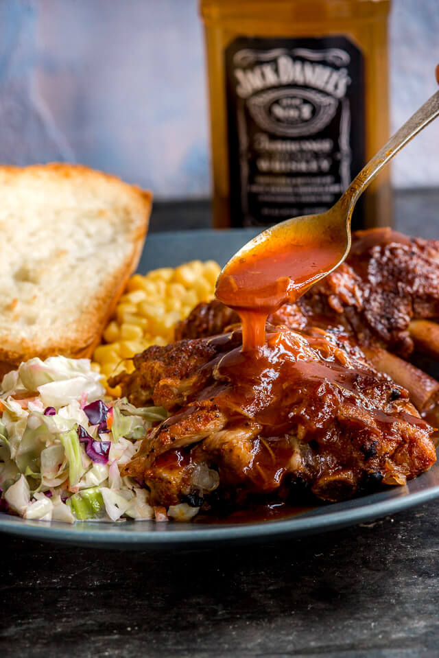 35 appetizing simple dinner ideas the adventure bite whiskey bbq instant pot ribs forumfinder Choice Image