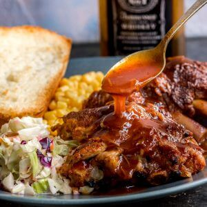 Whiskey BBQ Instant Pot Ribs
