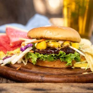 Jamaican Black Bean Burgers