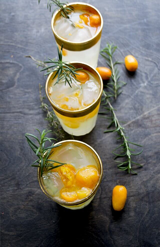 Germain Kumquat Cocktail