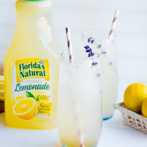 Boozy Lavender Lemonade