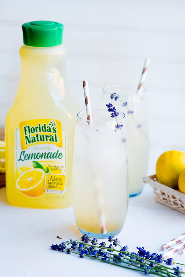 lavender lemonade picture