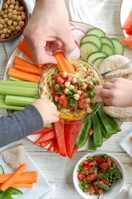 Lebanese-Style-Hummus