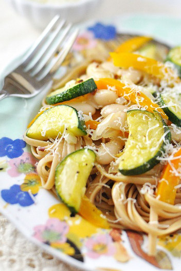 Linguine_Zucchini_Beans_Peppers_2