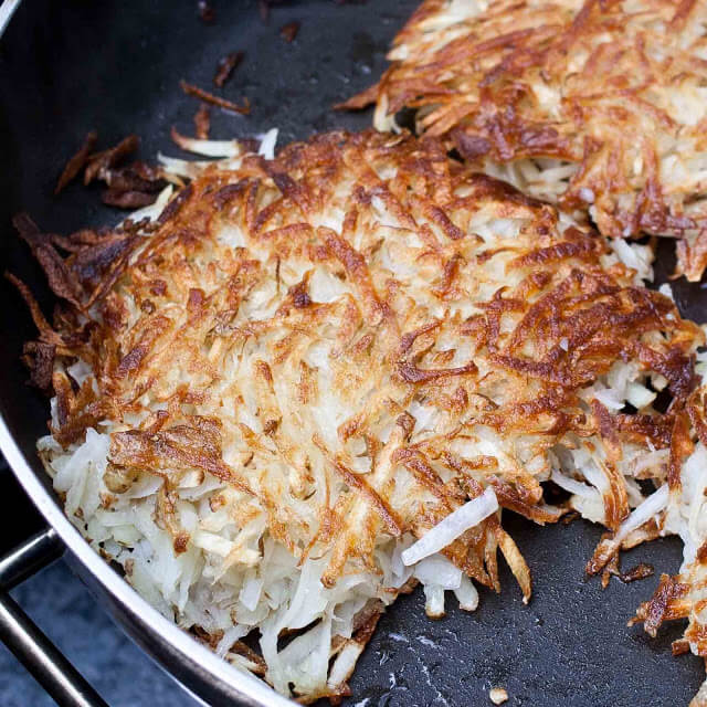 Camping Hash Browns, 101 stress free camping food