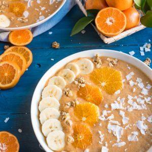 Orange Smoothie Bowl