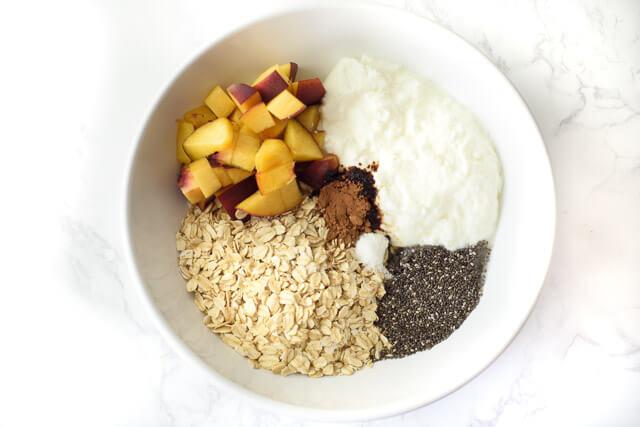 overnight oatmeal chia seeds