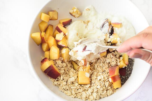overnight oatmeal chia