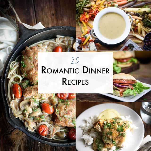 25 romantic dinner recipes the adventure bite romantic dinner roundup forumfinder Gallery