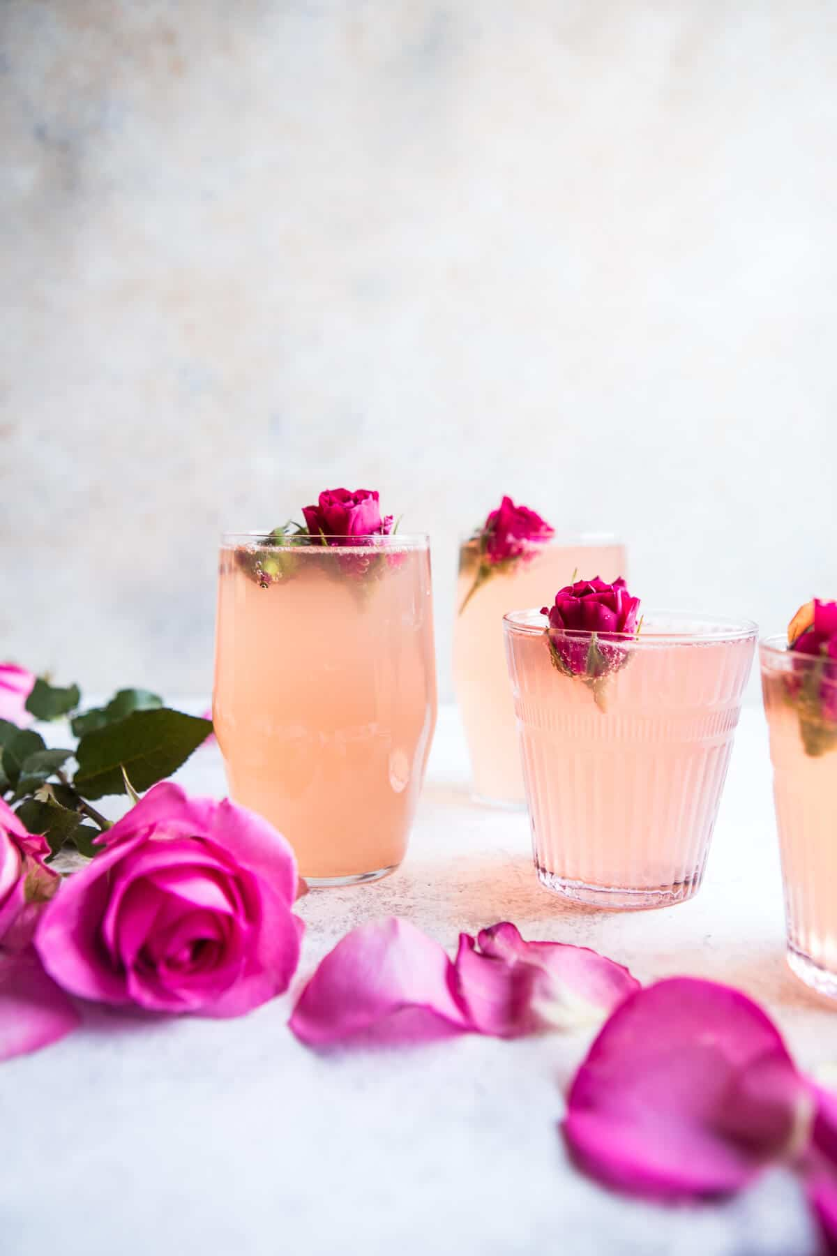 rose lemon spritzer