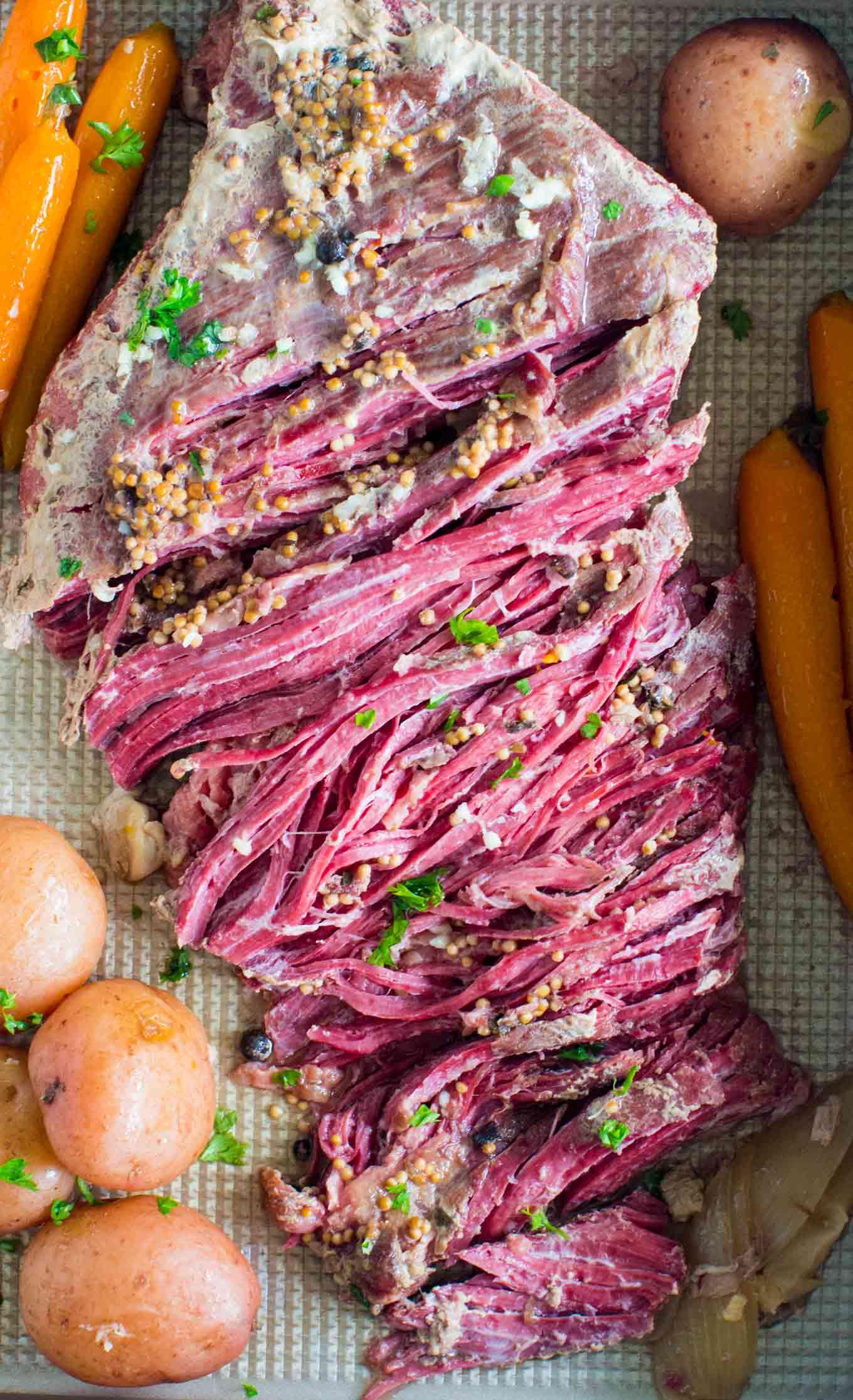 Slow Cooker Corned Beef, beef recipe