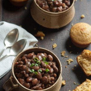 Slow Cooker Ham And Beans Recipe (With No-Soak Option)