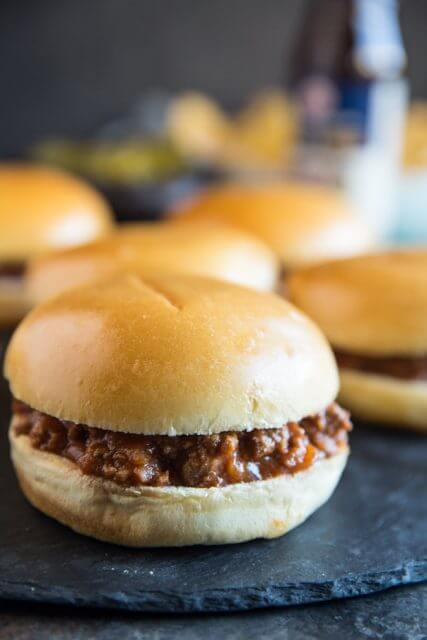The Best Sloppy Joe's, 101 Stress Free Camping Food Ideas