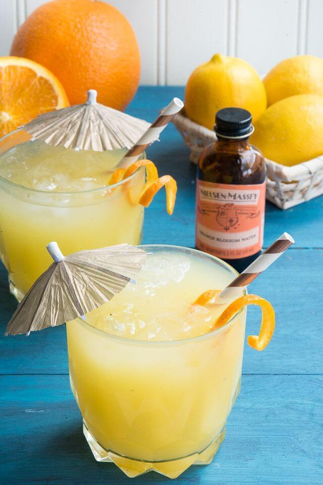 Tropical Escape Orange Blossom Cocktail