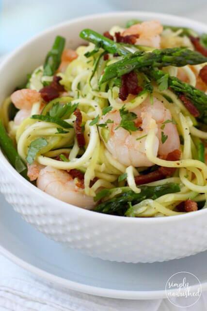 """Zucchini-""""Pasta""""-Carbonara-with-Shrimp-e1462990804223"""