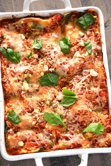 Zucchini-Ribbon-Lasagna