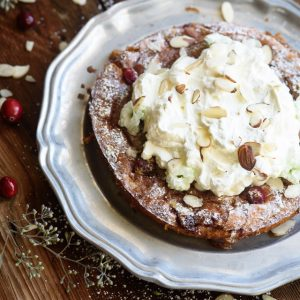 Cranberry Almond Clafoutis (Video!)
