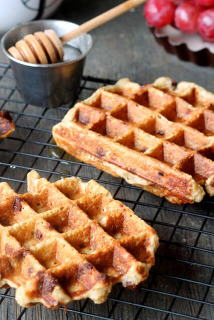 This breakfast waffle recipe is as close to breakfast as they are to ...