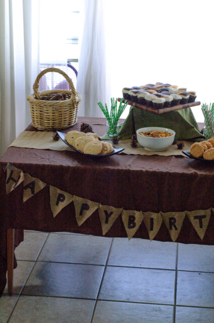 camping-birthday-party-table
