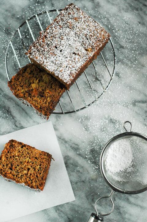 carrot-bread