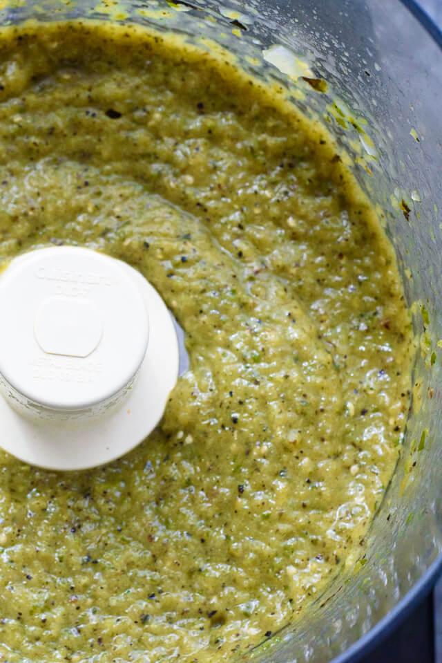 chilaquiles verde sauce
