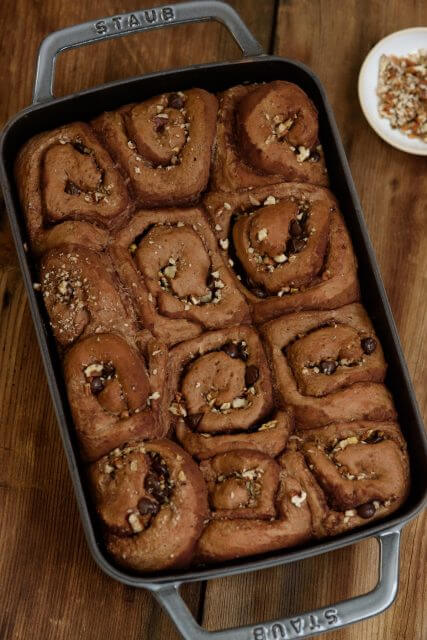 chocolate-cinnamon-rolls