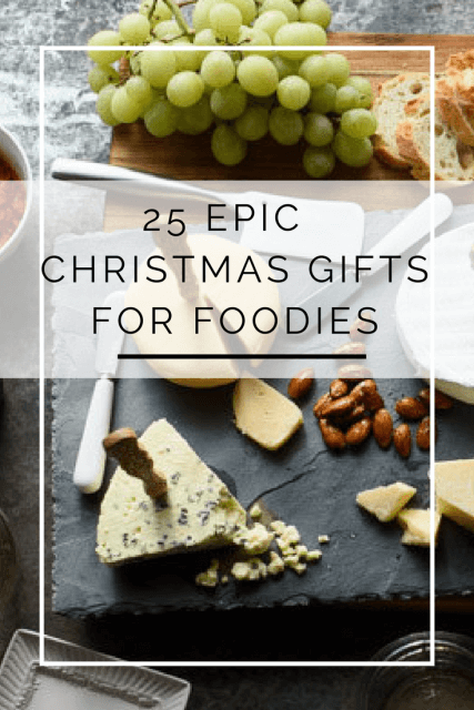 christmas gifts for foodies and chefs