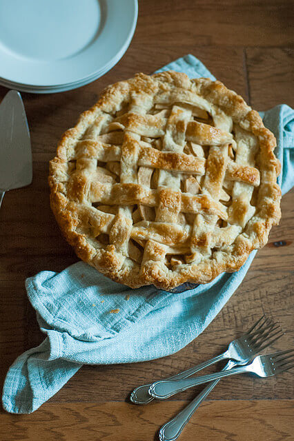 classic apple pie, 12 HOLIDAY PIES YOU'VE GOTTA MAKE THIS YEAR
