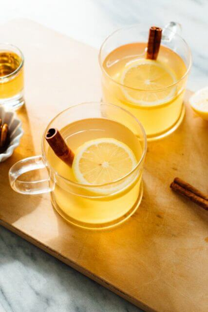 classic hot toddy, 15 COCKTAILS TO KEEP YOU WARM THIS WINTER