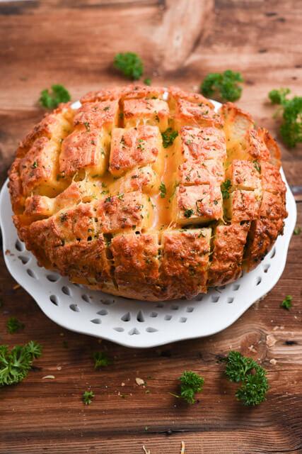 crack bread