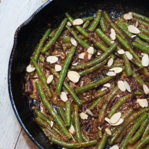Creamy Stovetop Green Beans