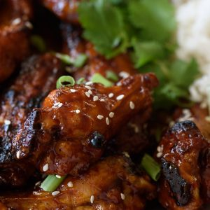 Sticky Honey Garlic Sauce