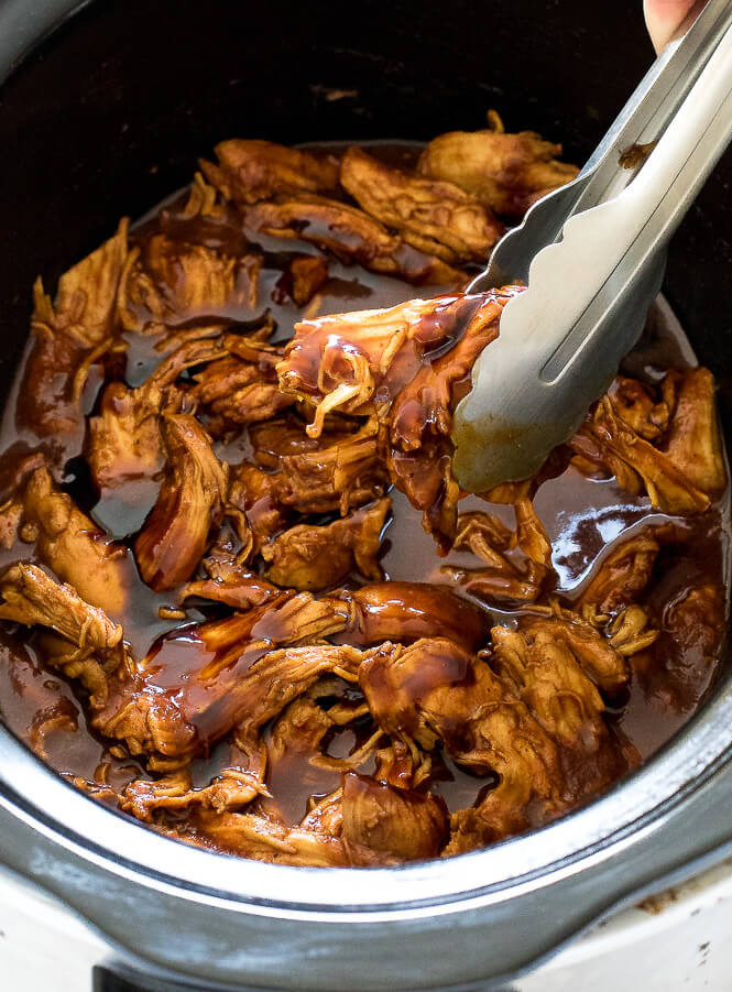 easy chicken breast recipes, chicken breast recipes, slow cooker barbecue chicken