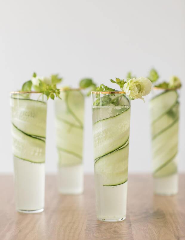 Cucumber Kiwi Gimlet
