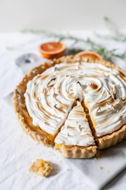 easy blood orange meringue pie, 12 HOLIDAY PIES YOU'VE GOTTA MAKE THIS YEAR